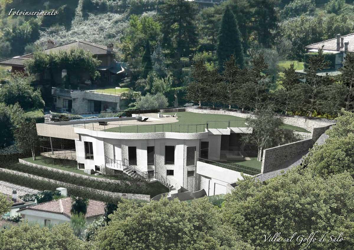 Villa Con Vista Panoramica A Sal Bs Stamera Costruzioni